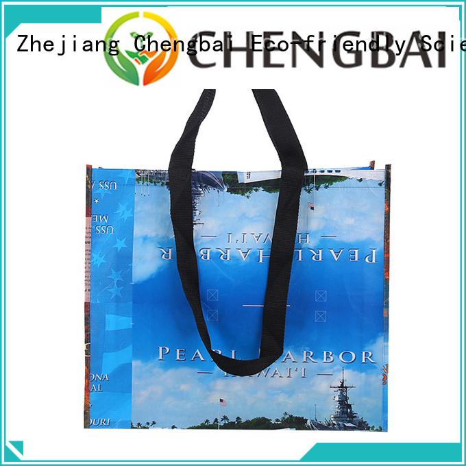 Chengbai customized eco friendly non woven bag bulk purchase for advertising
