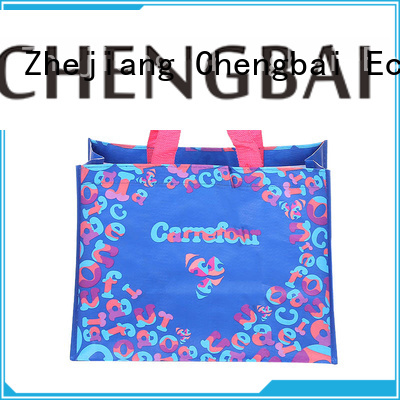 Chengbai reusable pp woven bag order now for daily necessities