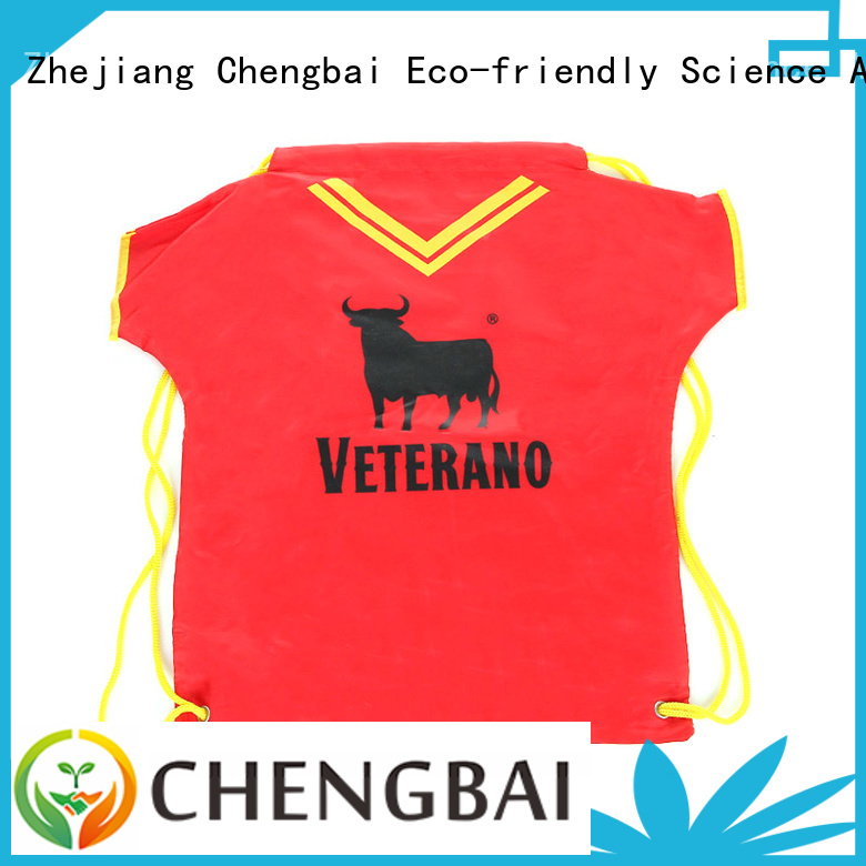 Chengbai High-quality polyester tote bag factory for shopping