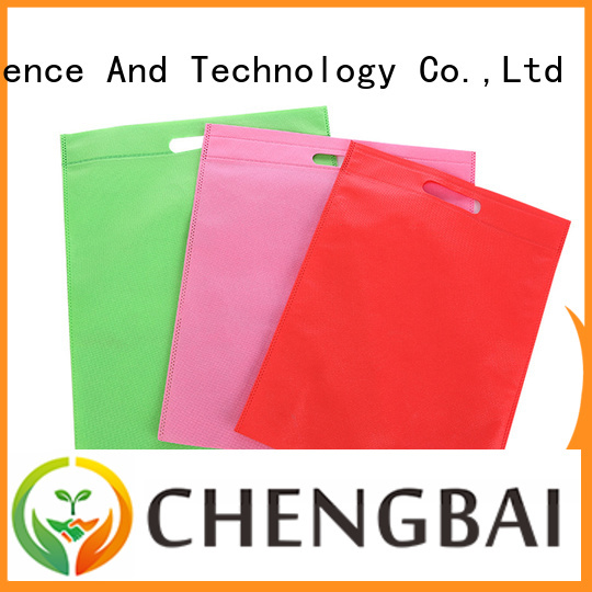 Chengbai waterproof non woven fabric bag request for quote for advertising