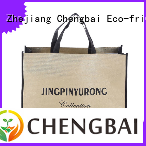 Chengbai Best non woven tote bag awarded supplier for packing
