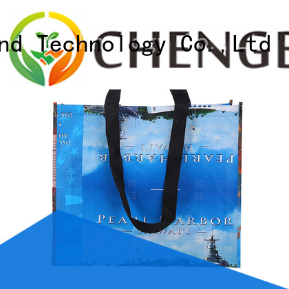 Chengbai foil polypropylene tote bags wholesale awarded supplier for promotion