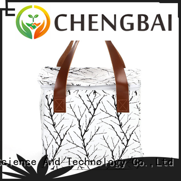 Chengbai logo thermal cooler bag one-stop service supplier for daily necessities