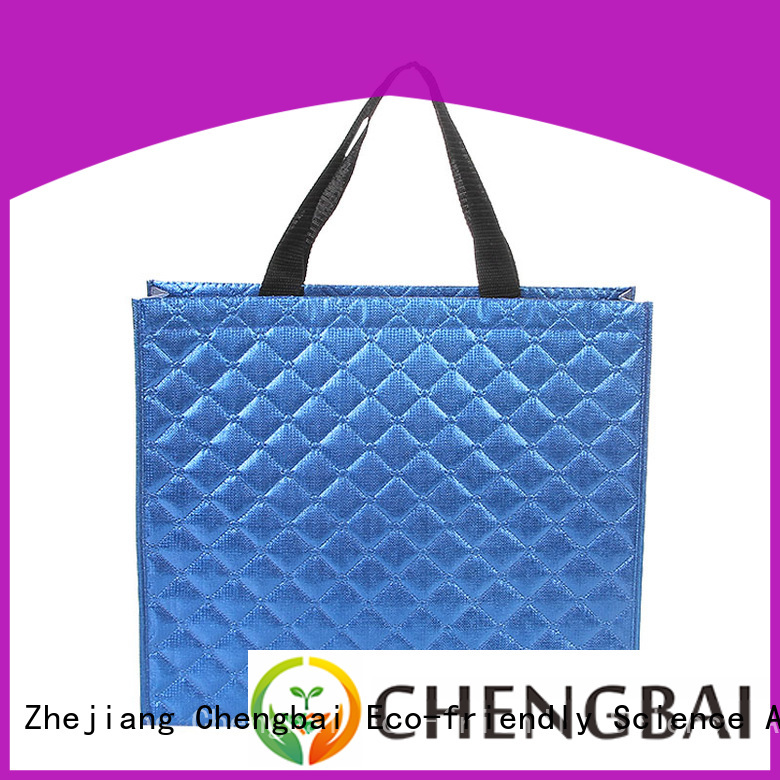 Chengbai Wholesale u cut non woven bags request for quote for promotion