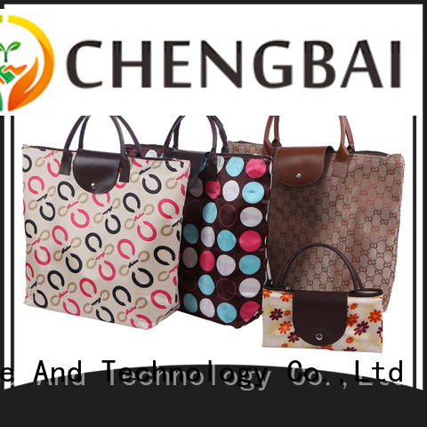 Chengbai new custom made shopping bags Supply for daily necessities