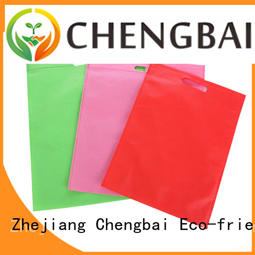 Chengbai shopping non woven bag printing design request for quote for promotion
