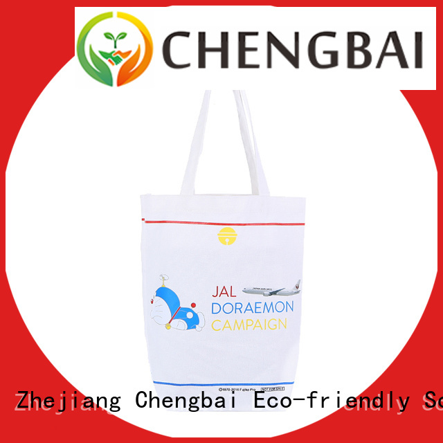 Chengbai hot selling custom printed canvas bags factory for packing