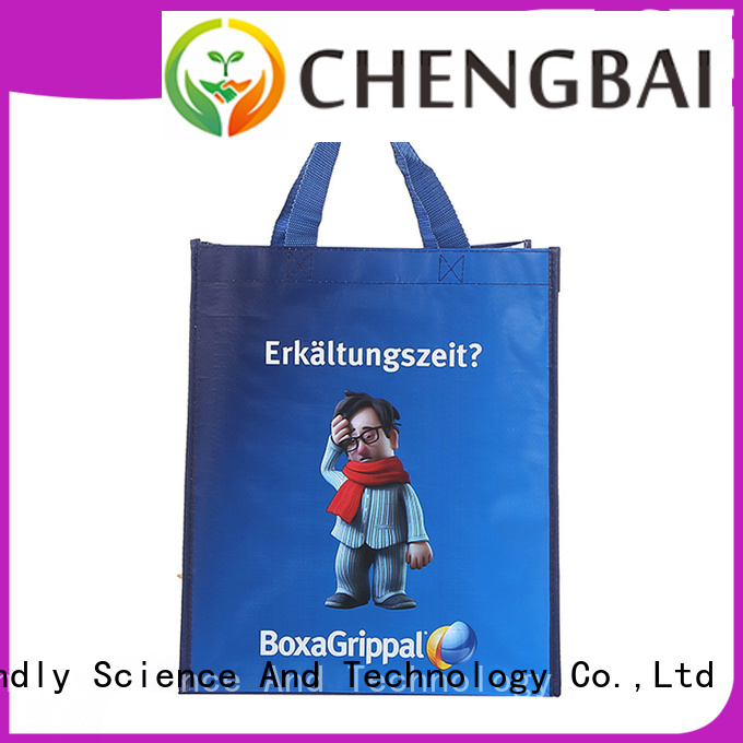 Chengbai heat polywoven plastic wholesale for promotion