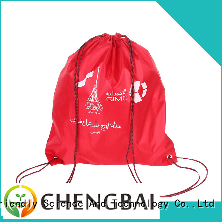 Chengbai New nylon vs polyester bags personalized for promotion