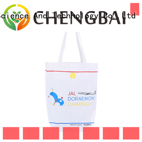 Chengbai canvas organic cotton bags for business for daily necessities