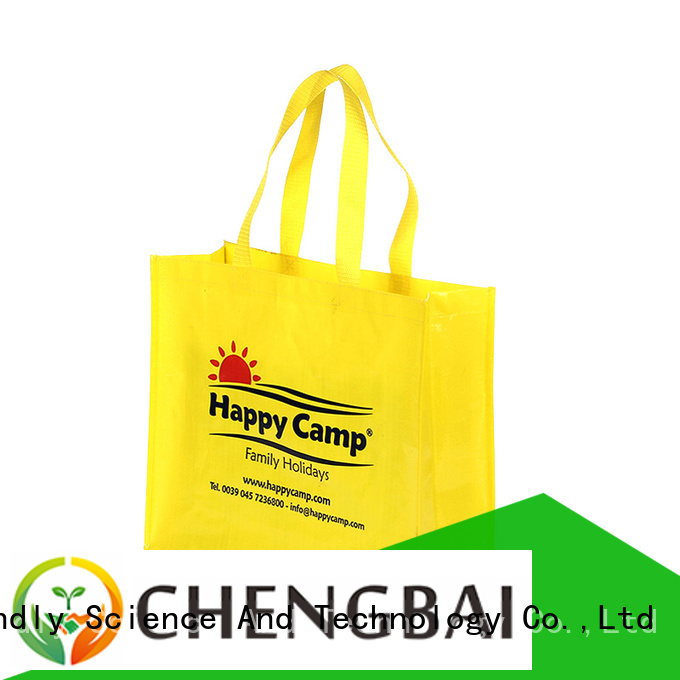 Chengbai price wholesale pp woven bags factory for daily necessities