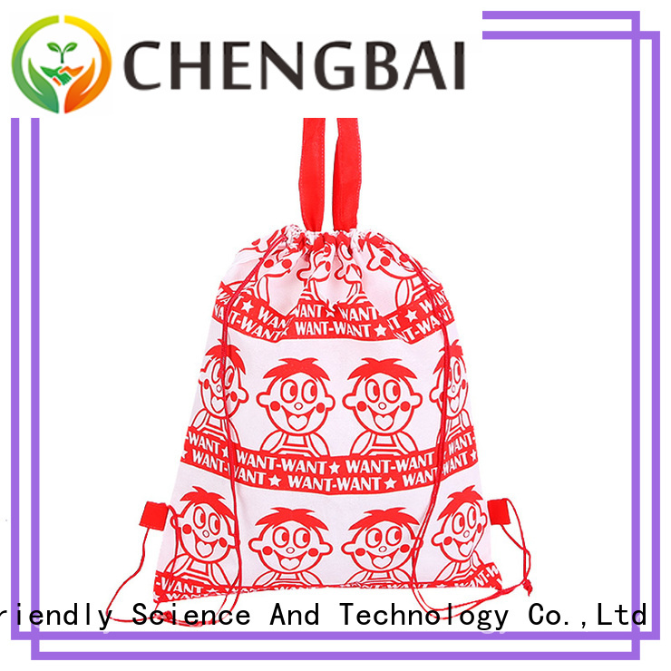 Chengbai Wholesale reusable polyester shopping bags Supply for shopping