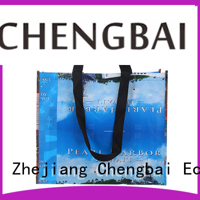 Chengbai portable cheap woven bags bulk purchase for promotion
