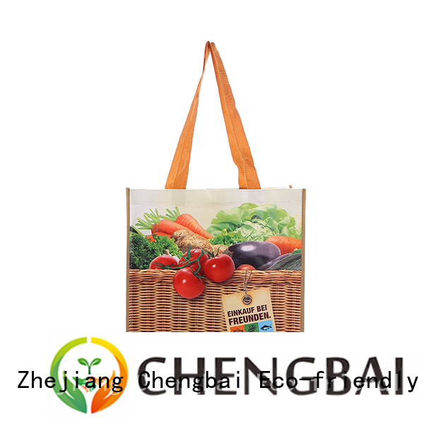 Chengbai Custom pp woven bag factory for daily necessities