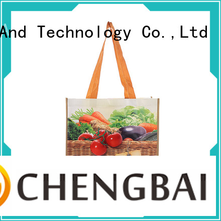 Chengbai Custom wholesale pp woven bags order now for daily necessities