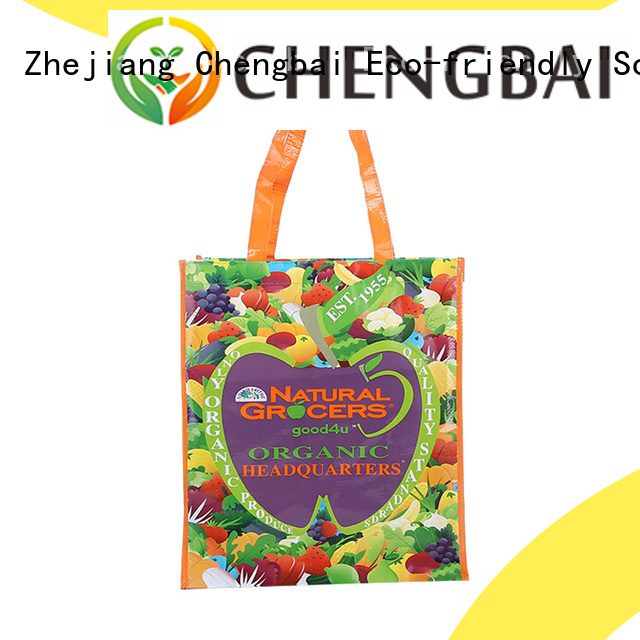 Chengbai Wholesale pp laminated pp woven bags company for daily necessities