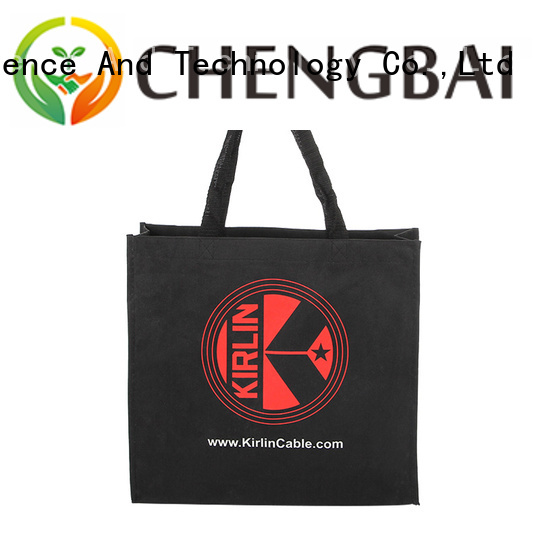 Chengbai promotional reusable canvas bags win-win cooperation for daily necessities
