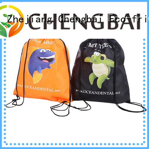Chengbai backpack tote bag polyester manufacturers for promotion
