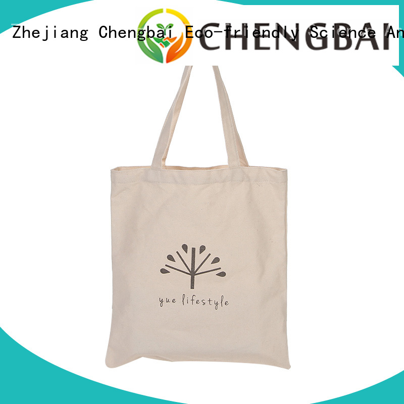 Chengbai fashion cotton cloth bags Suppliers for daily necessities