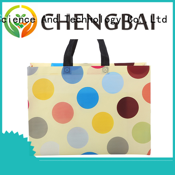 Chengbai High-quality non woven fabric bag manufacturing process bulk purchase for shopping
