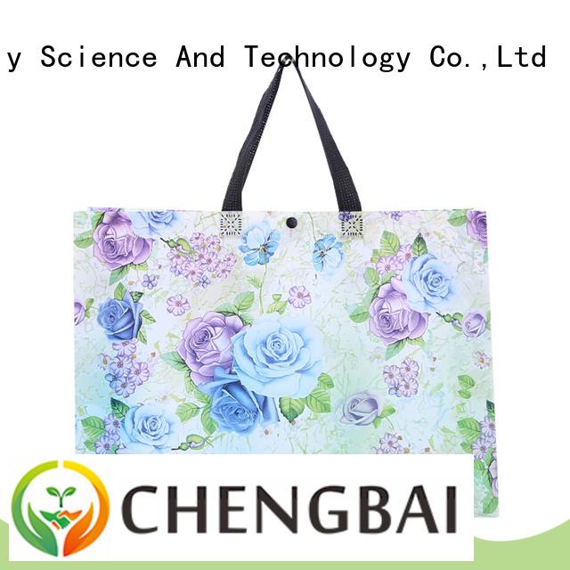portable non woven bag design printing awarded supplier for shopping