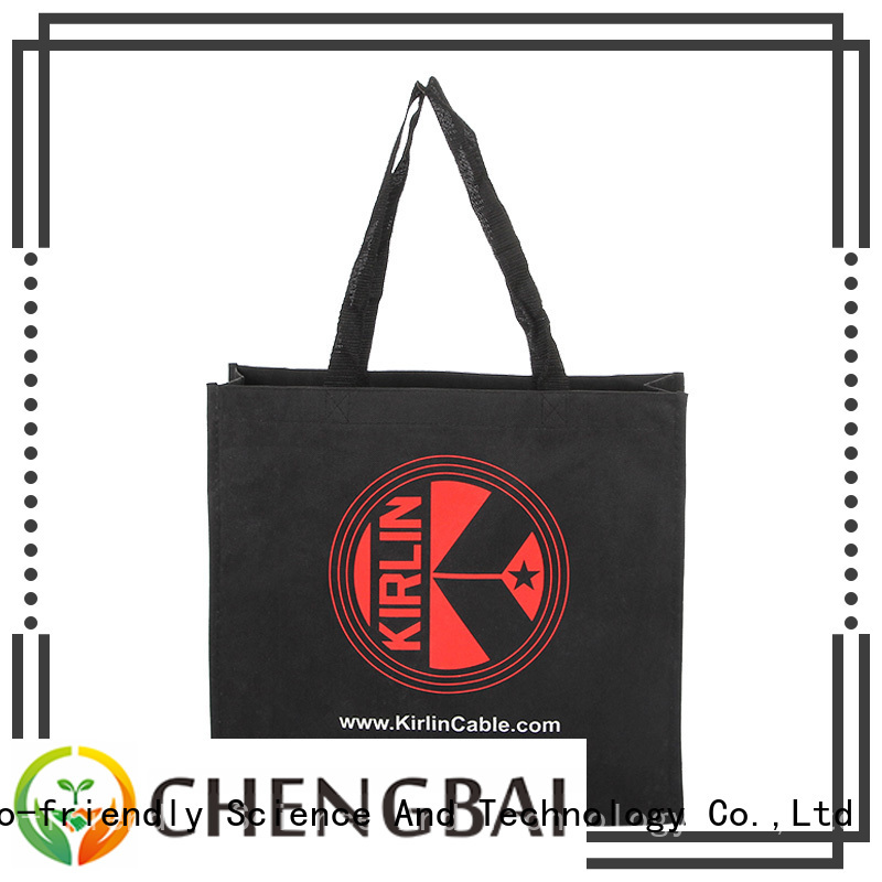 Chengbai ecofriendly custom cotton tote special buy for daily using