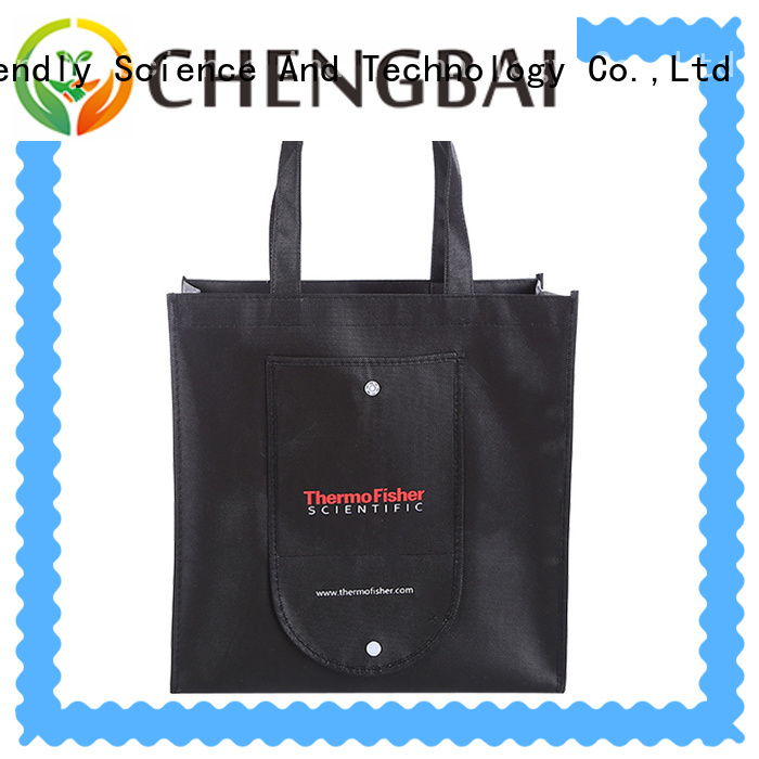Chengbai waterproof laminated non woven bag wholesale for packing