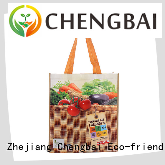 Chengbai fashion PP woven shopping bags factory for packing