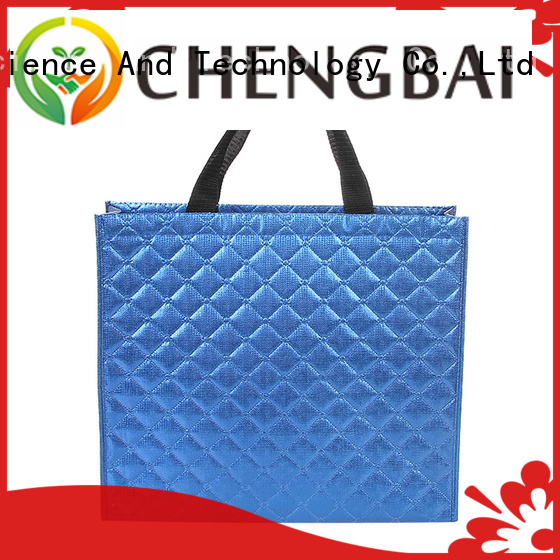 Chengbai price non woven bag supplier bulk purchase for advertising