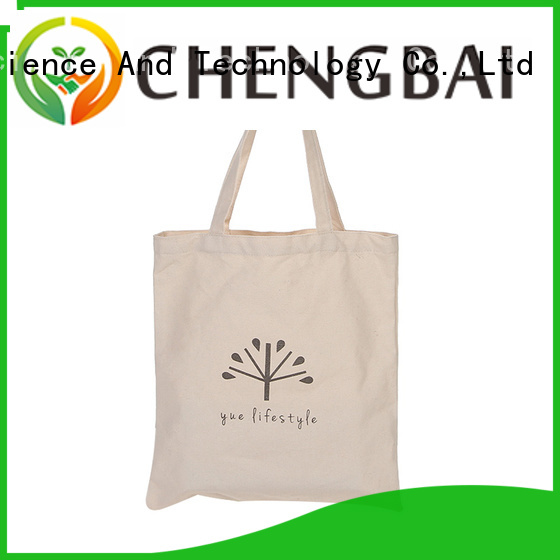 Chengbai fashion cotton carry bags international market for daily using