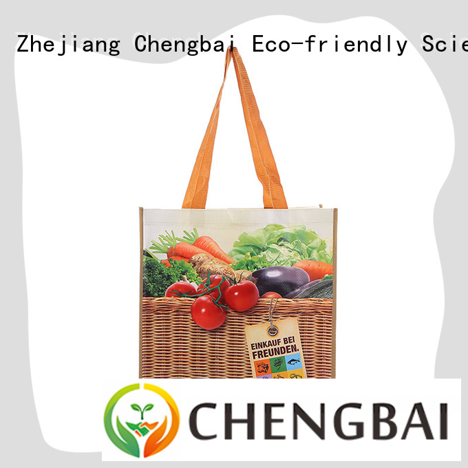 Chengbai pp pp woven shopping bag great deal for packing