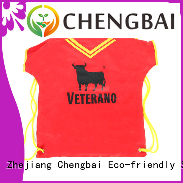 Chengbai polyester foldable bag company for packing