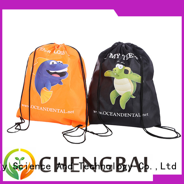 Chengbai different 600d polyester bag design for daily necessities