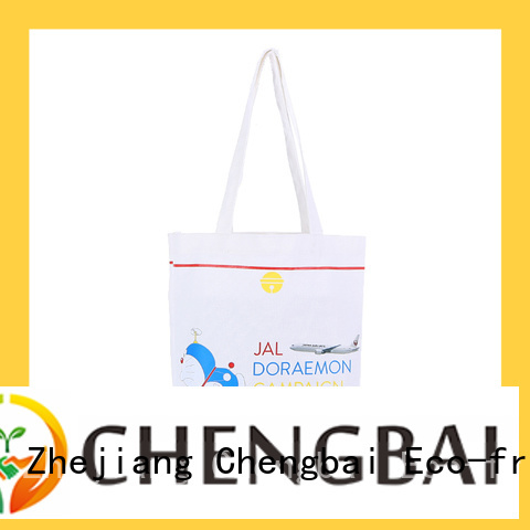 Chengbai fashion personalized canvas bags international market for gift
