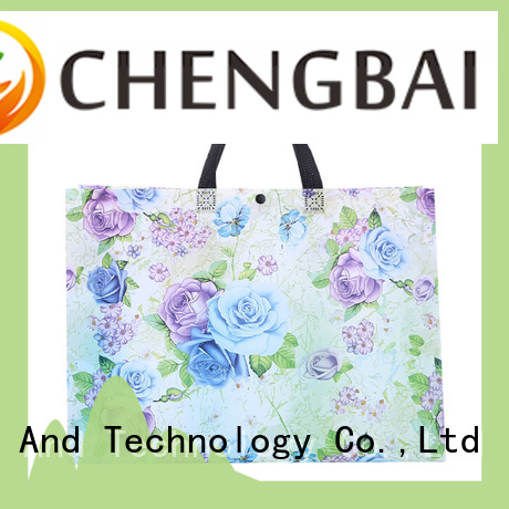 Chengbai industrial non woven carry bags manufacturer wholesale for promotion