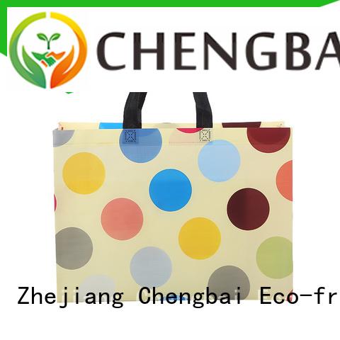 Chengbai logo non woven bag printing design bulk purchase for shopping