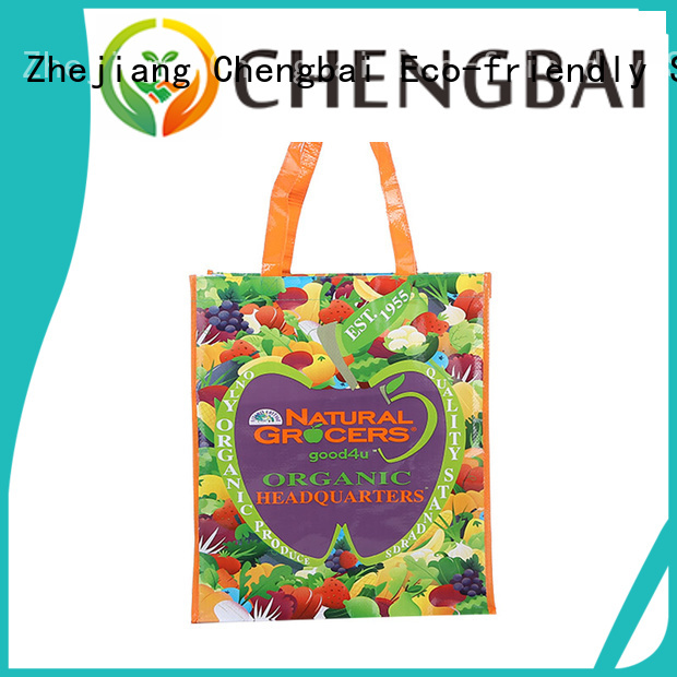 Chengbai Top pp woven tote bag company for packing