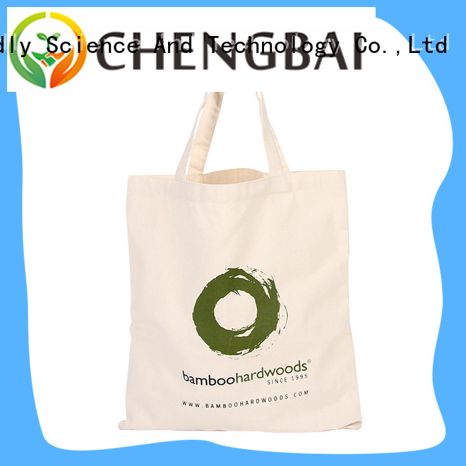 Custom fashion print and design recycled shopping canvas bag wholesale cotton bag