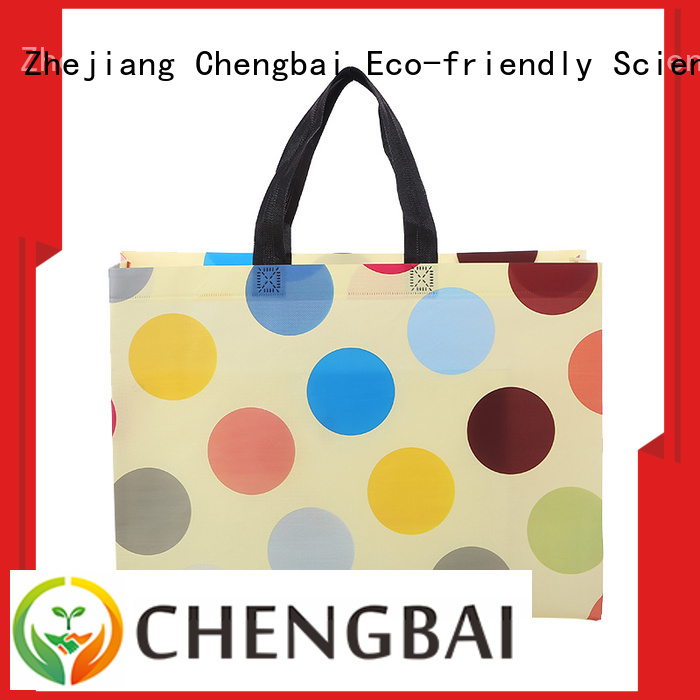 Chengbai reusable woven shopping bags wholesale wholesale for shopping