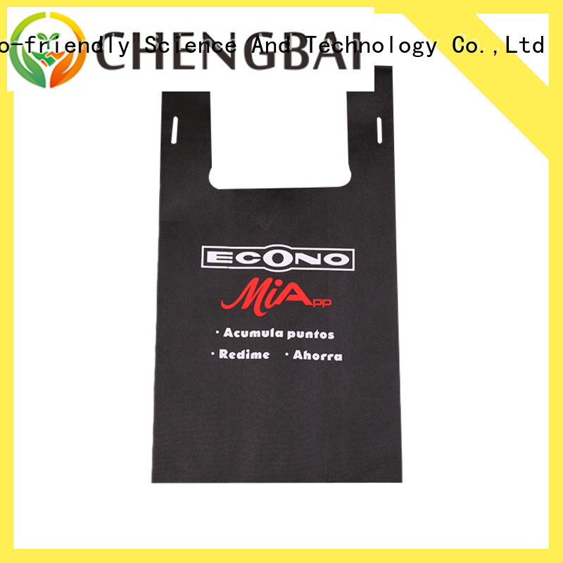 Chengbai ultrasonic non woven polypropylene bags request for quote for packing