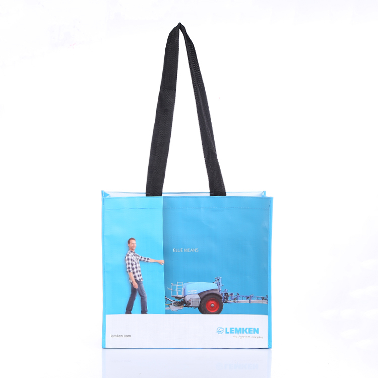reusable custom shopping bags pp woven bag advertising tote bag pp laminated woven bag