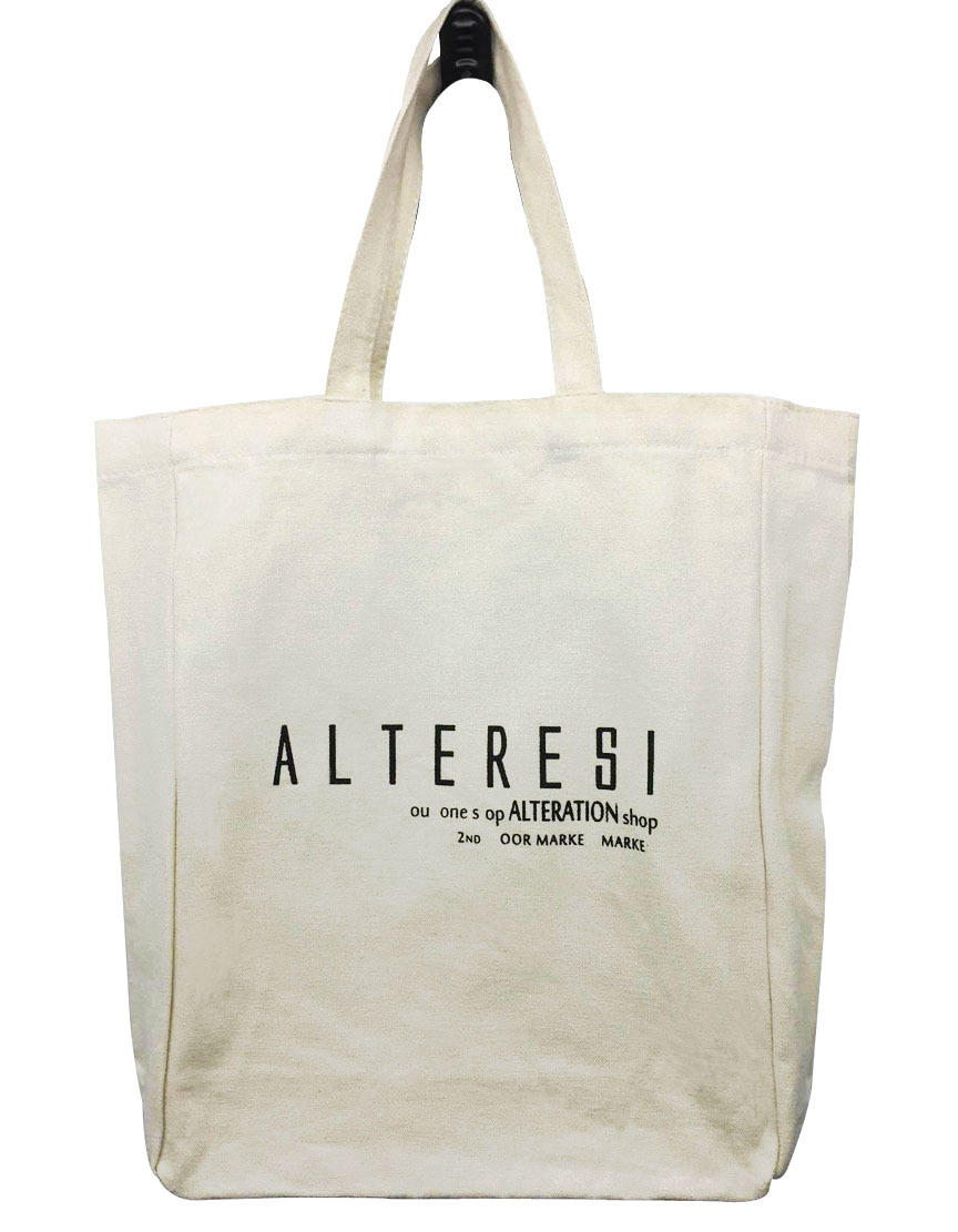 new style cotton bag customized design shopping bag