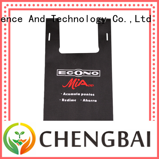 Chengbai different non woven gift bags bulk purchase for advertising