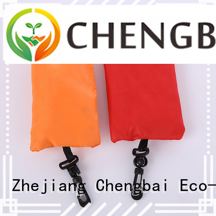 Chengbai High-quality polyester tote bag design for shopping
