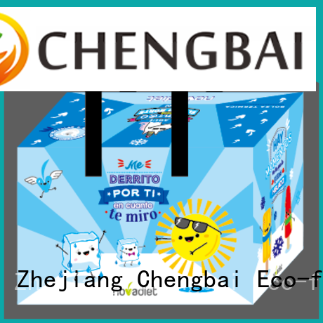 Chengbai zipper non woven cooler bag get quotes for packing