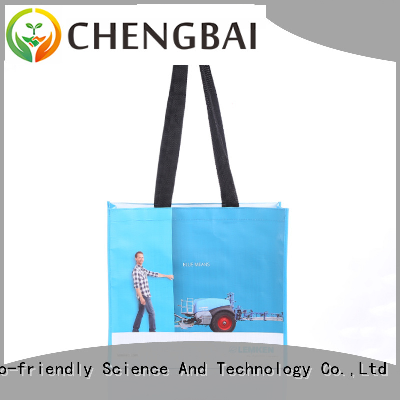 Chengbai size pp woven shopping bag order now for packing