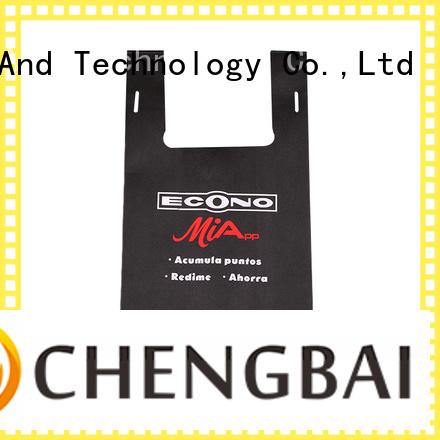 Chengbai durable non woven bag factory for advertising