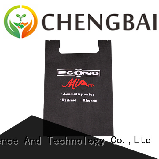 Custom non woven poly bags sale wholesale for shopping