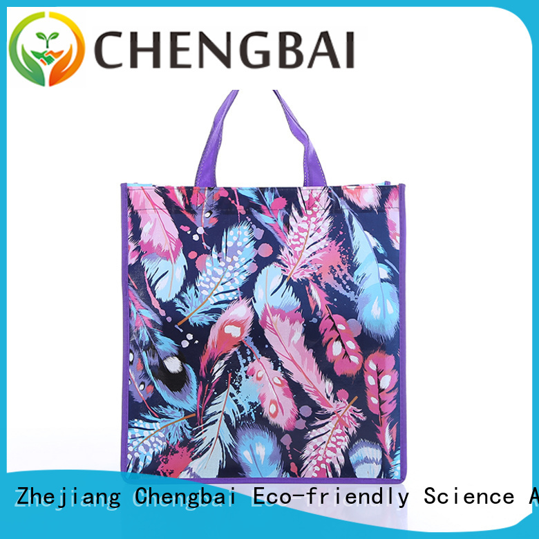 Chengbai eco-friendly reusable shopping bags leading manufacturer for packing