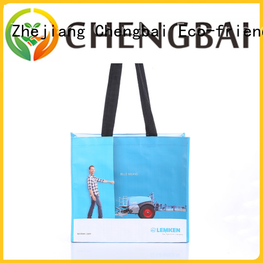 Top laminated pp woven bag tote exporter for daily necessities